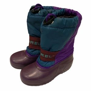 Sorel Kids Snow and Rain Boots Size 12 Retro
